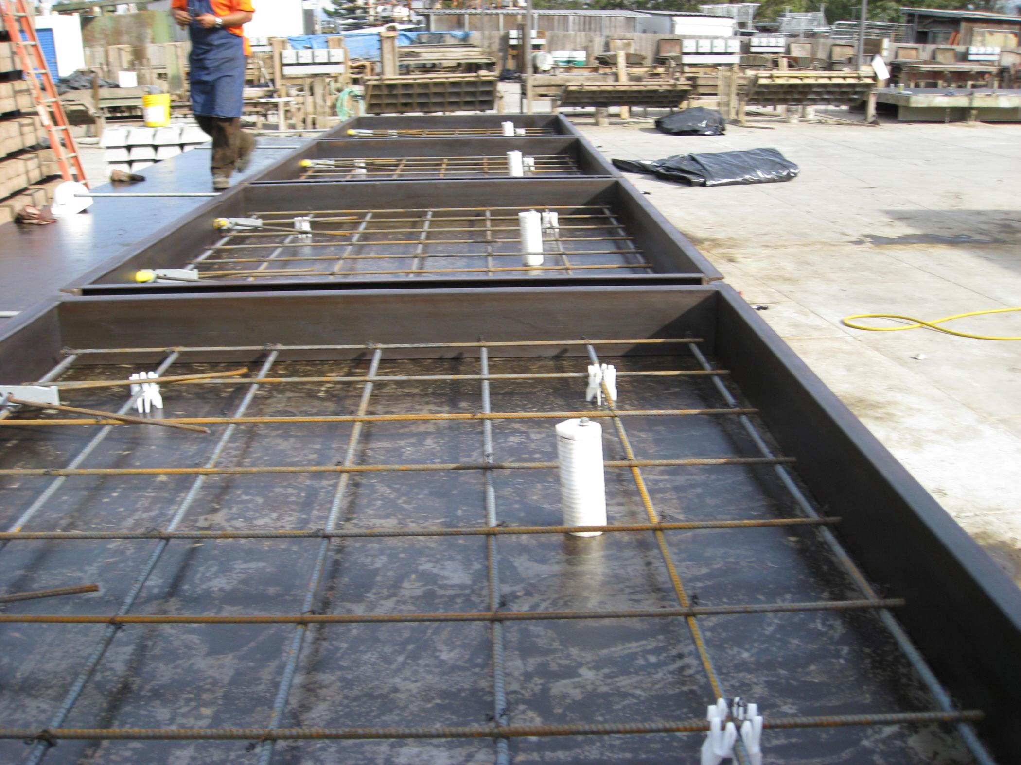 concrete lagging dynamic precast