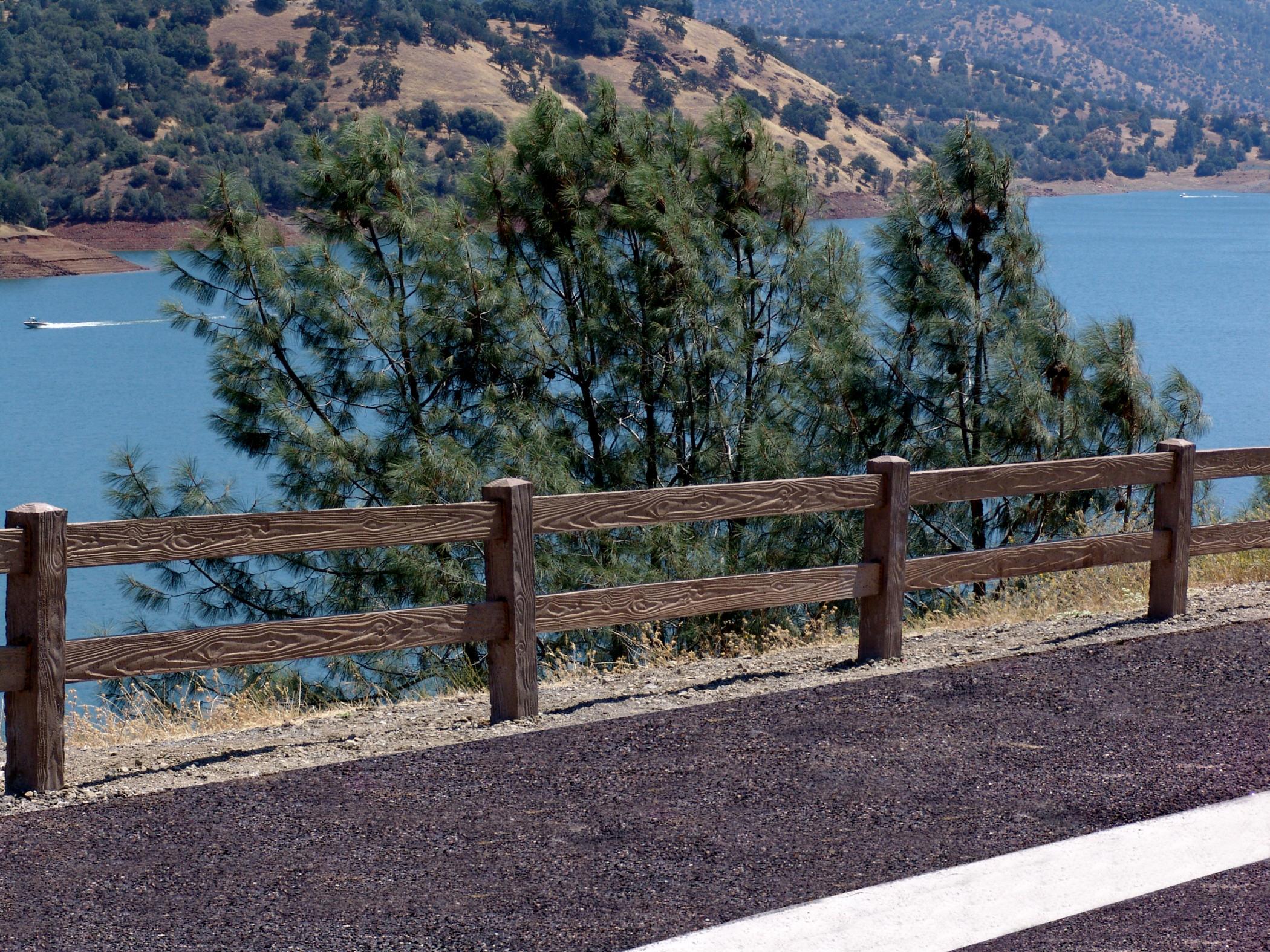 Trail Fencing Dynamic Precast
